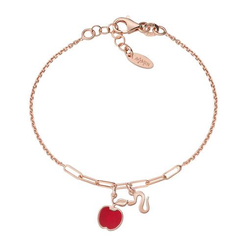 Apple and Snake Rosé Bracelet