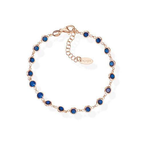 Blue Drops Zirconia Bracelet