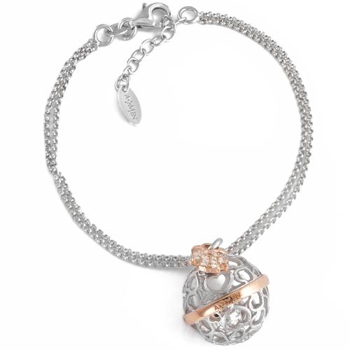 Bracelet angels AG925 and zircon