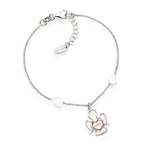 Bracelet angels AG925 rhodium/rosè