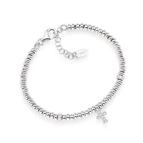 Bracelet Cross Zircons