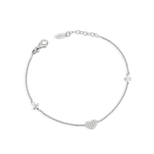 Bracelet Crosses e Heart