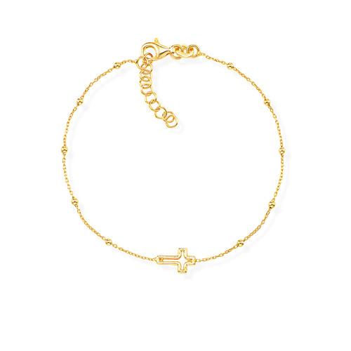 Bracelet Crosses Golden