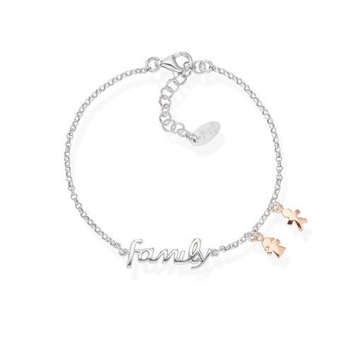 Bracelet Family and Charm Rosè