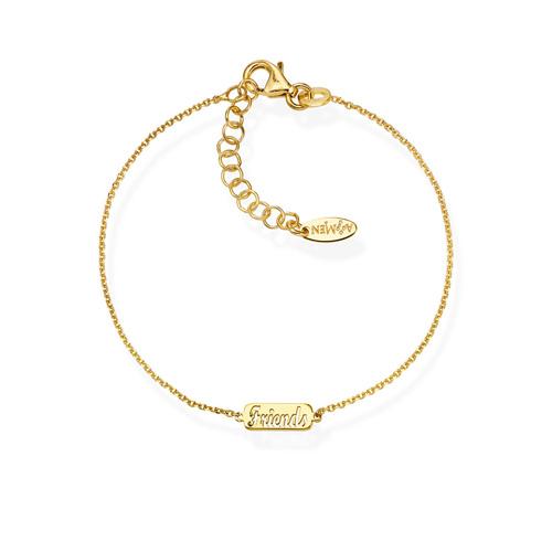 Bracelet Friends Golden