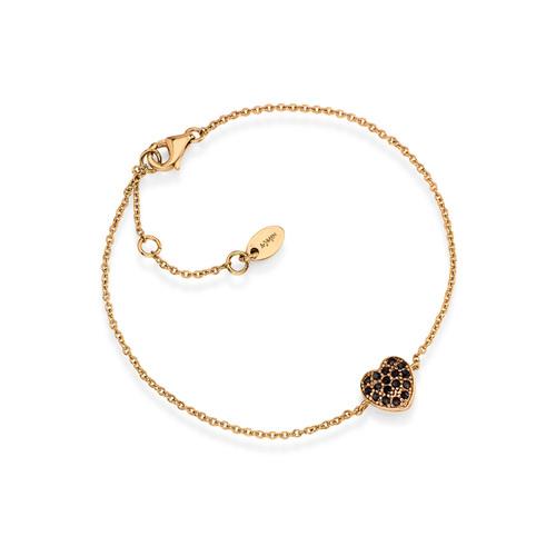 Bracelet Hearth Cubic Zirconia
