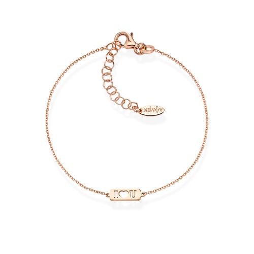 Bracelet I Love You Rosè