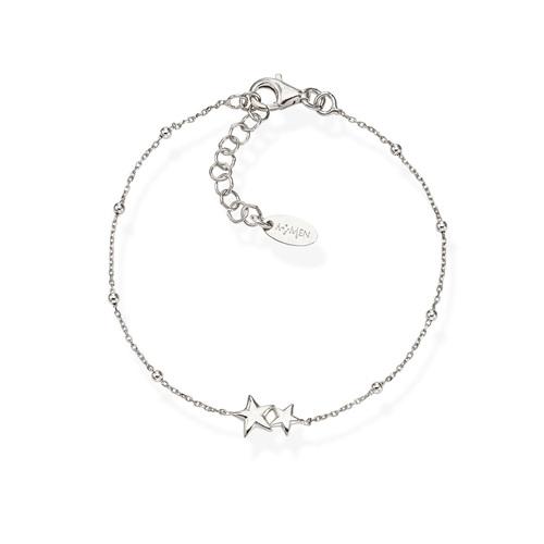 Bracelet Little Stars Rhodium