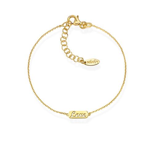 Bracelet Love Golden