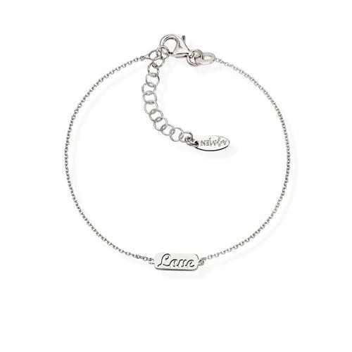 Bracelet Love Rhodium
