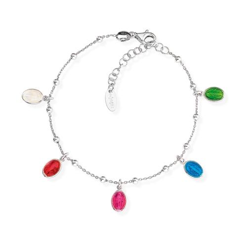 Bracelet Madonna Enamelled Multicolor