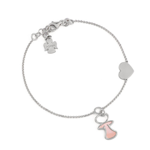 Bracelet Mom with Heart