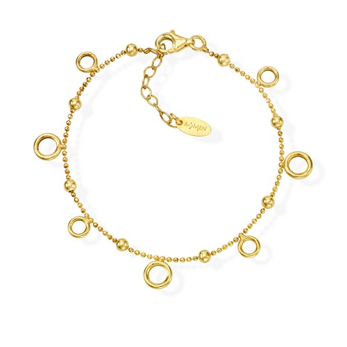 Bracelet Orbits Golden