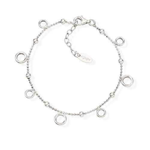 Bracelet Orbits Rhodium