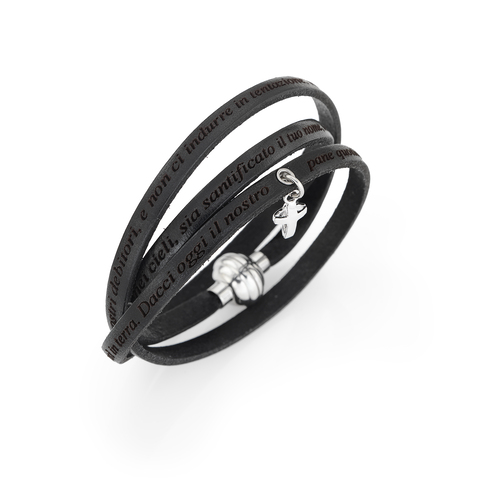 Bracelet Our Father Cross Charm