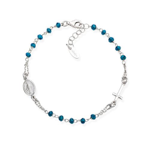 Bracelet Pinkry Crystals Blue