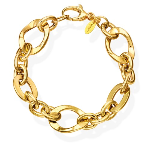 Bracelet Rolo Chain Various Golden