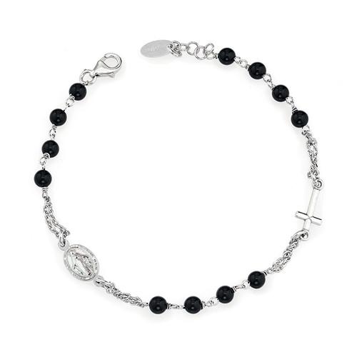 Bracelet Rosary Black Onyx
