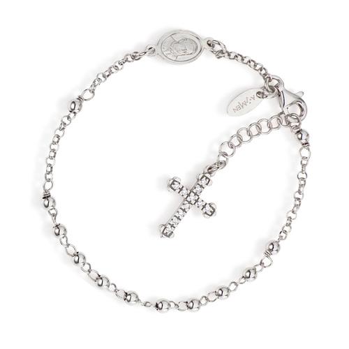 Bracelet Rosary Cross Charm