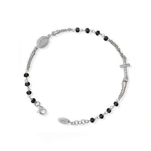 Bracelet Rosary Crystal Pavè