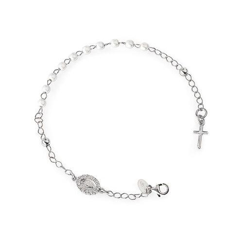 Bracelet Rosary Miracolous Cross Charm