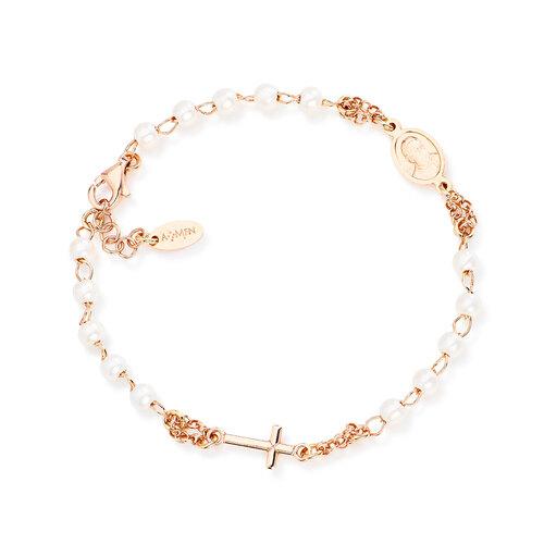 Bracelet Rosary Pearls