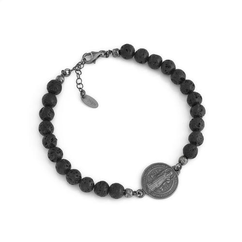 Bracelet St. Benedict AG925 rhodium