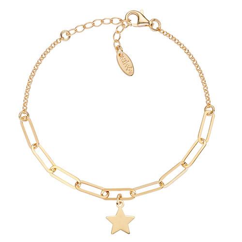 Bracelet Star Chain Double Golden