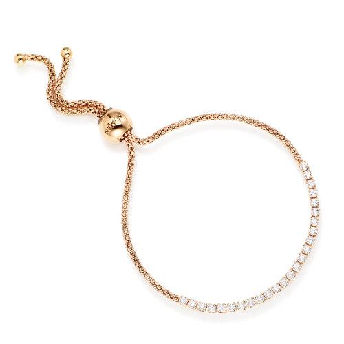 Bracelet Tennis AG925 and zircons white