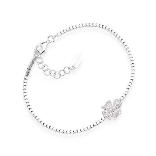 Bracelet Tennis Angel Zircons