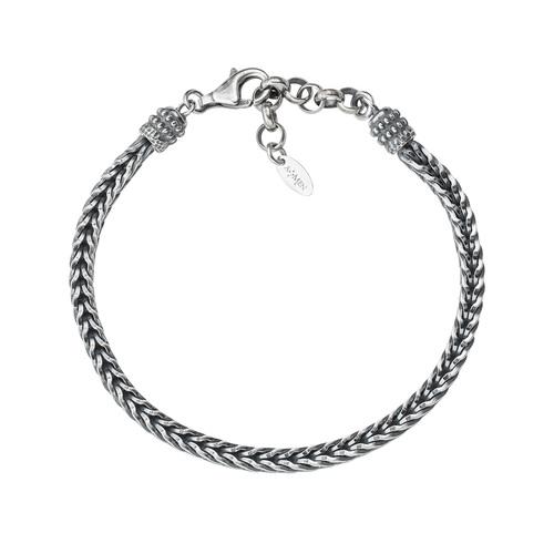Braided Bracelet Burnished