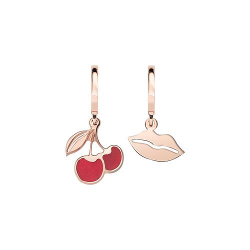 Cherry and Kiss Rosè Earrings