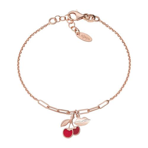 Cherry and Kiss Rosé Bracelet