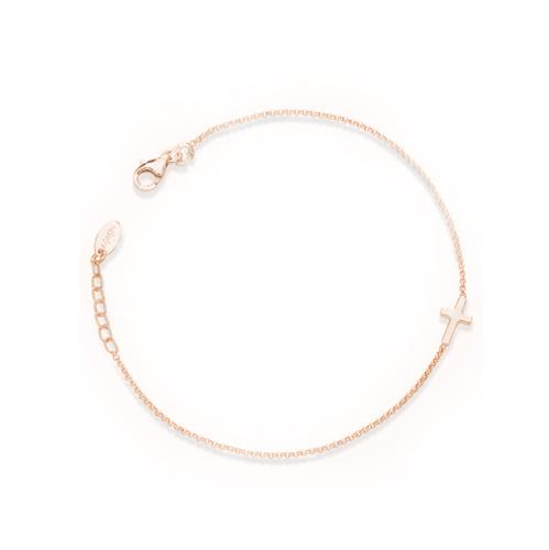 Cross bracelet AG925