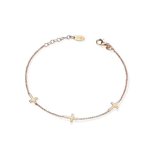 Cross braceletes AG925