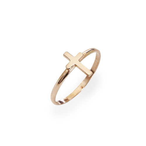 Cross ring AG925