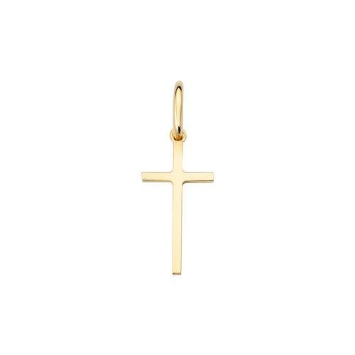 Cross Rosè single earring