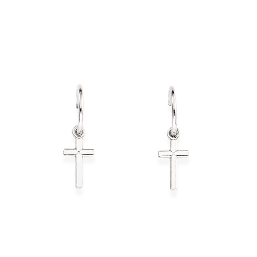 Earrings Bell Cross Small