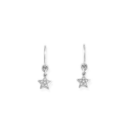 Earrings Bell Star Zirconia