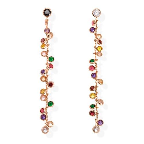 Earrings Chanderlier Multicolor