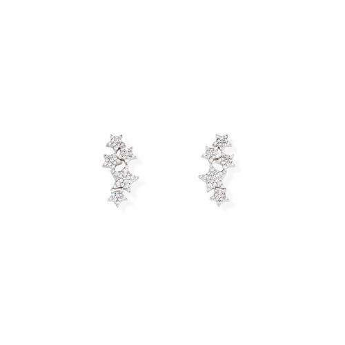 Earrings ConStartion of Stars Zircons