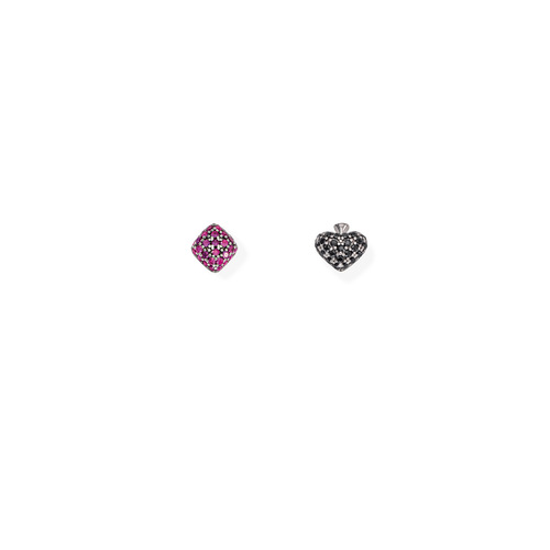 Earrings Diamonds and Spades Zirconate