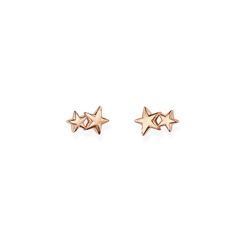 Earrings Little Stars Rosè