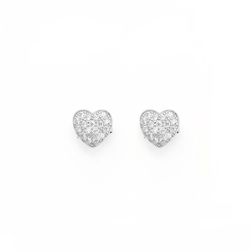 Earrings Lobe Heart