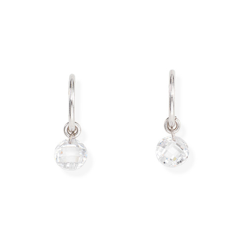 Earrings Single Zirconia