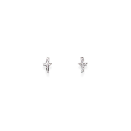 Earrings South Cross Cubic Zirconia