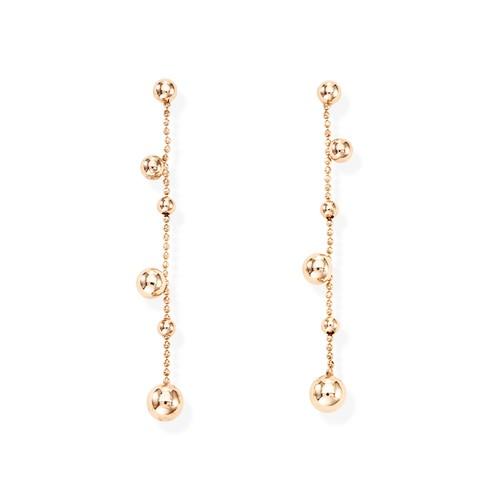 Earrings Spheres Rosé