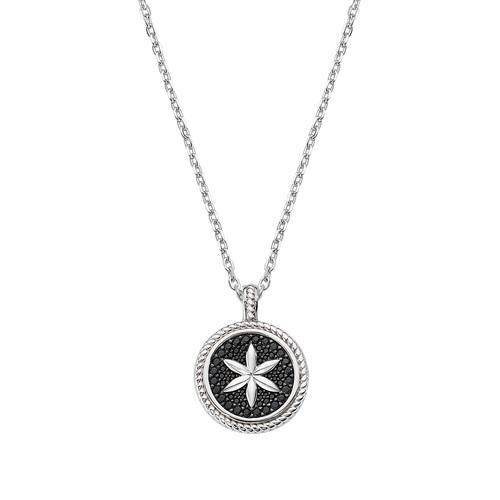 Flower of Life Medal Necklace