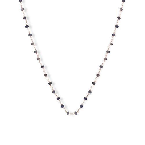 Gemstone Necklace 45 cm