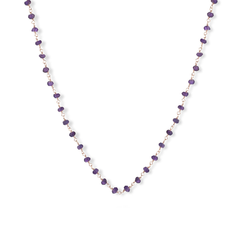 Gemstone Necklace 45 cm